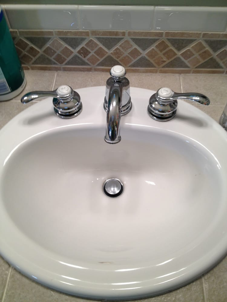 New Bathroom Sink and Faucet
